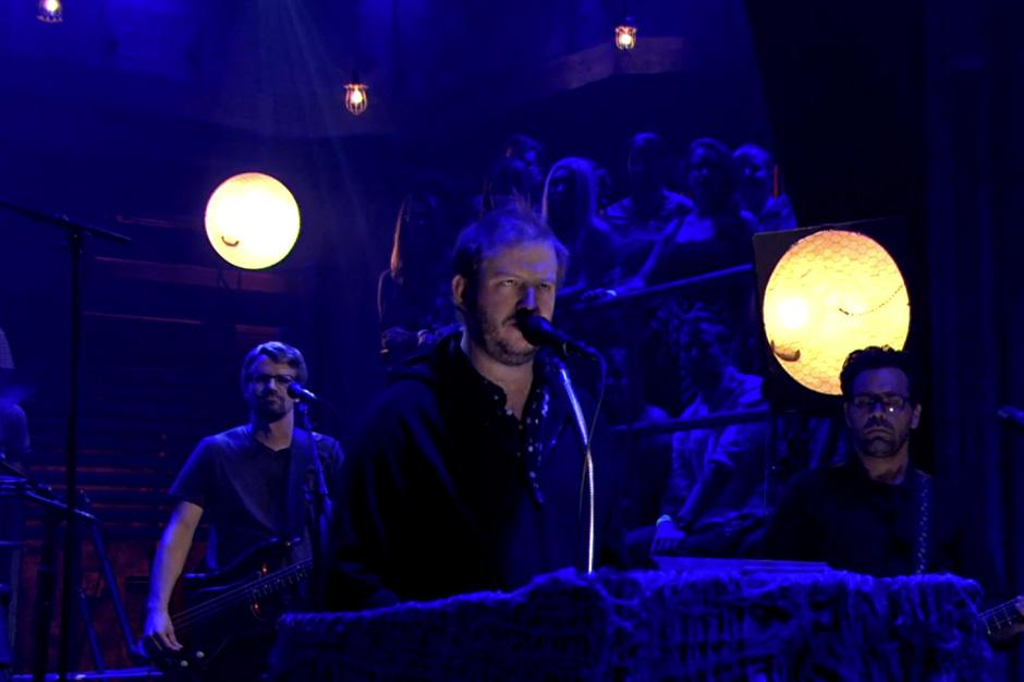 Justin Vernon's Volcano Choir Offer 'Byegone' for Smoldering TV Debut on 'Fallon'