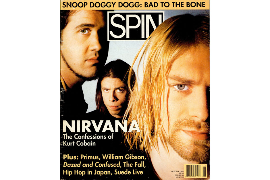 Nirvana SPIN Cover October 1993