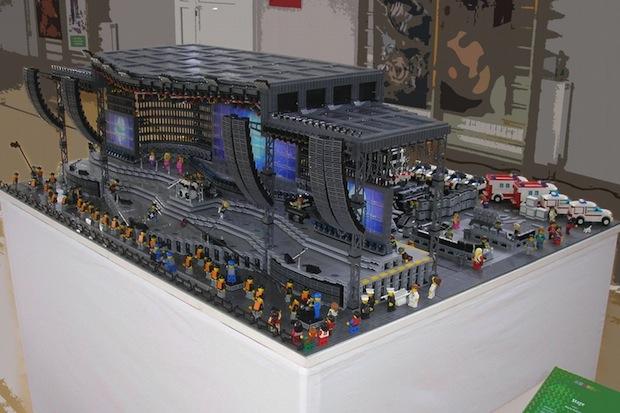 Lego concert rig