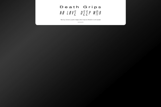 Death Grips, 'No Love Deep Web,' vinyl, official, Amazon