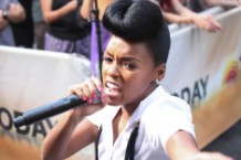 "Janelle Monáe. Solange, Big Boi, Cee Lo Green, ""Electric Lady (Remix),"" title track, stream"