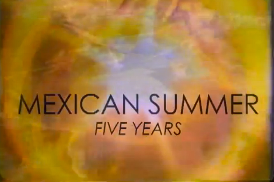mexican summer: five years, festival