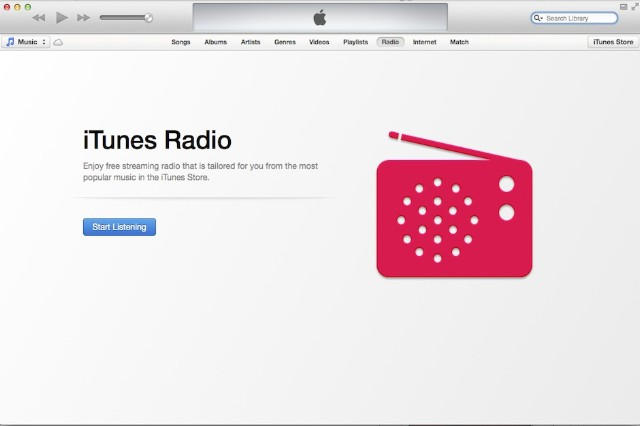 Apple, iTunes Radio, first impressions, Pandora, streaming music