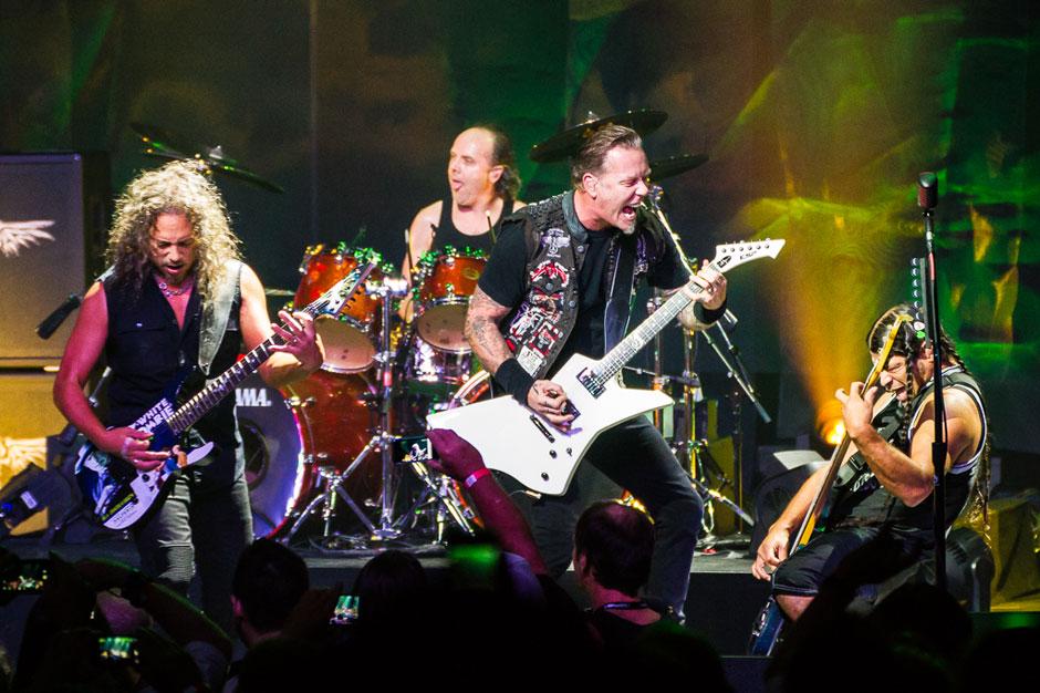 Metallica at the Apollo Theater, New York City, September 21, 2013