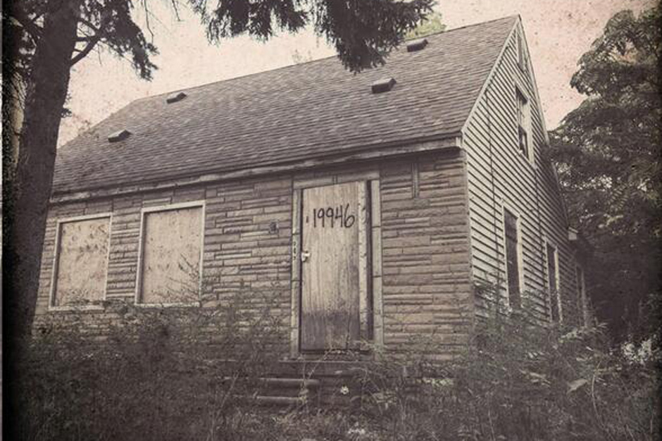 Eminem s the marshall mathers lp 2 cover returns to his for Www the house com returns
