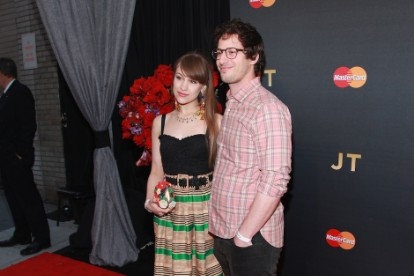 Joanna Newsom, Andy Samberg, married, wedding, 'Saturday Night Live'