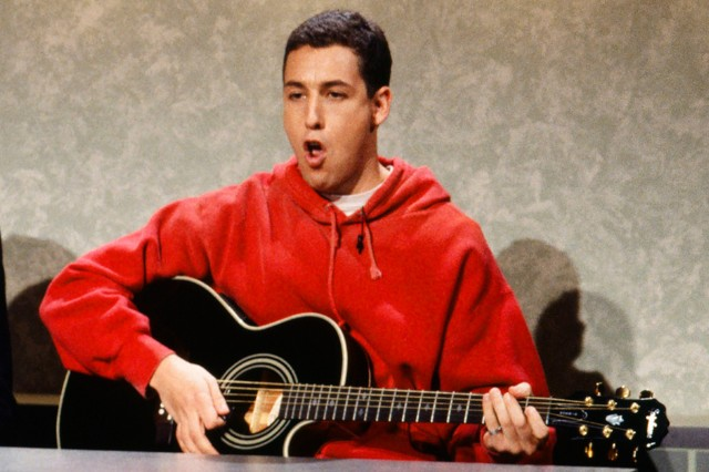 Adam Sandler on Saturday Night Live, 1993.
