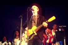 Beck performs at Station to Station
