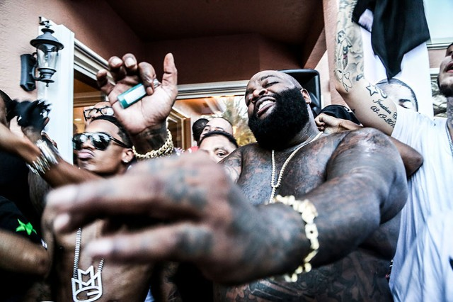 Rick Ross at his house, Davie, FL, September 21, 2013
