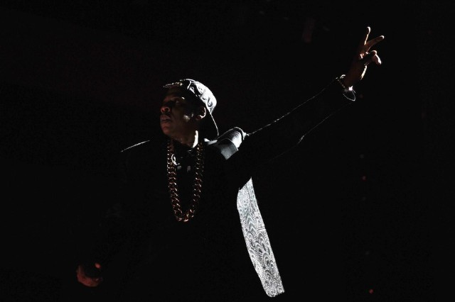 Jay Z during the New York stop of the Legends of Summer Tour