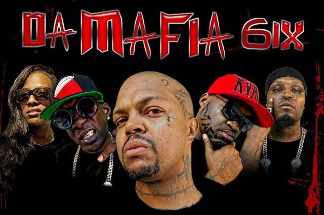 Da Mafia 6ix Yelawolf 'Go Hard' Stream Three 6 DJ Paul