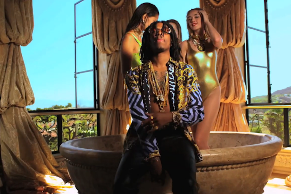 Bask In The Gilded Glory Of Migos Versace Video Spin
