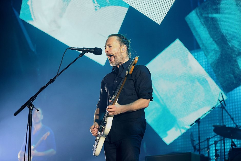 Thom Yorke Spotify Radiohead Atoms for Peace