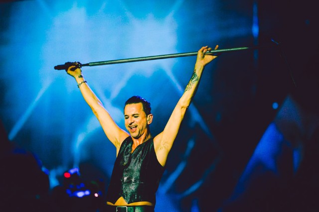 Depeche Mode at ACL Music Festival, Austin, Texas, October 4, 2013 / Photo by Chad Wadsworth