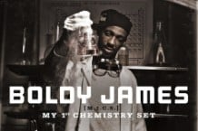 The cover of Boldy James' upcoming 'Chemistry Set'