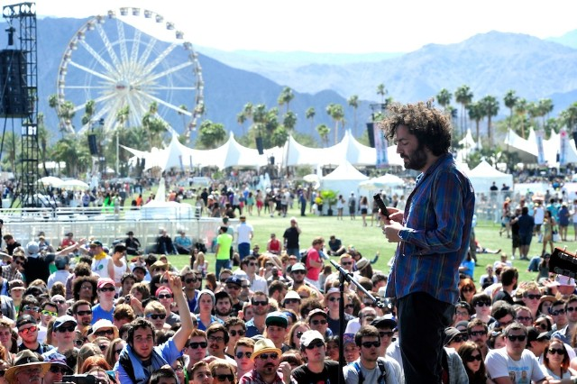Dan Bejar of Destroyer at Coachella in 2012