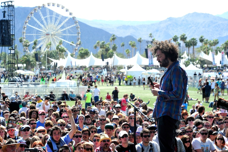 Dan Bejar of Destroyer at Coachella in 2012
