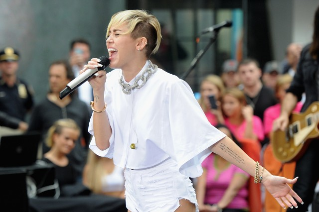 Miley Cyrus Sinead O'Connor Today Show Beef
