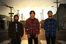 Earthless, (L to R) Mike Eginton, Mario Rubalcaba, Isaiah Mitchell