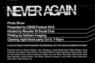 CBGB Festival Revisits New York's Grimy Past With 'Never Again' Photo Exhibit