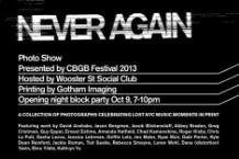 cbgb, cbgb festival, never again