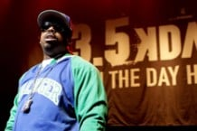 Daz Dillinger at KDAY's Krush Groove Concert in April