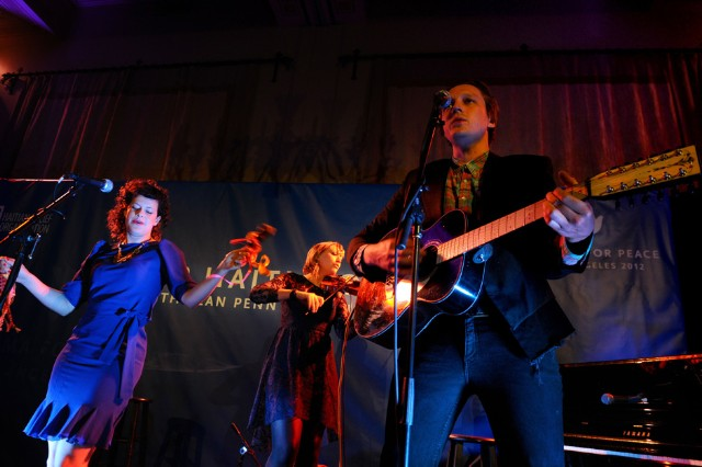 arcade fire, reflektor, bridge school benefit