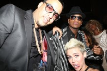 Miley Cyrus, French Montana, and, uh, Ne-Yo