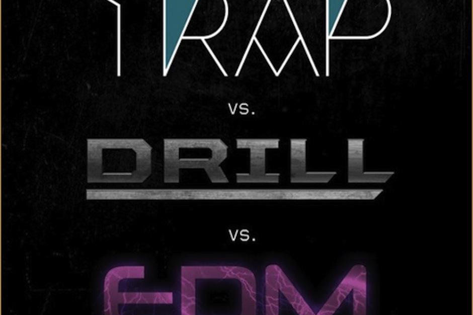 The cover of Araabmuzik's 'Trap vs. Drill vs. EDM'