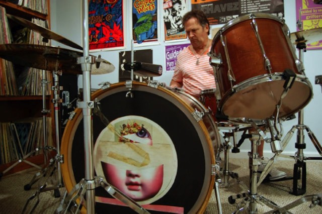Guided By Voices, drum set, drum kit, 'Alien Lanes,' 'Bee Thousand,' eBay, auction, $55,000,