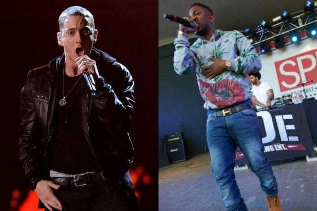Eminem, Kendrick Lamar, Rapture, tour