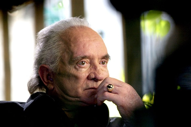 Johnny Cash, December 2002
