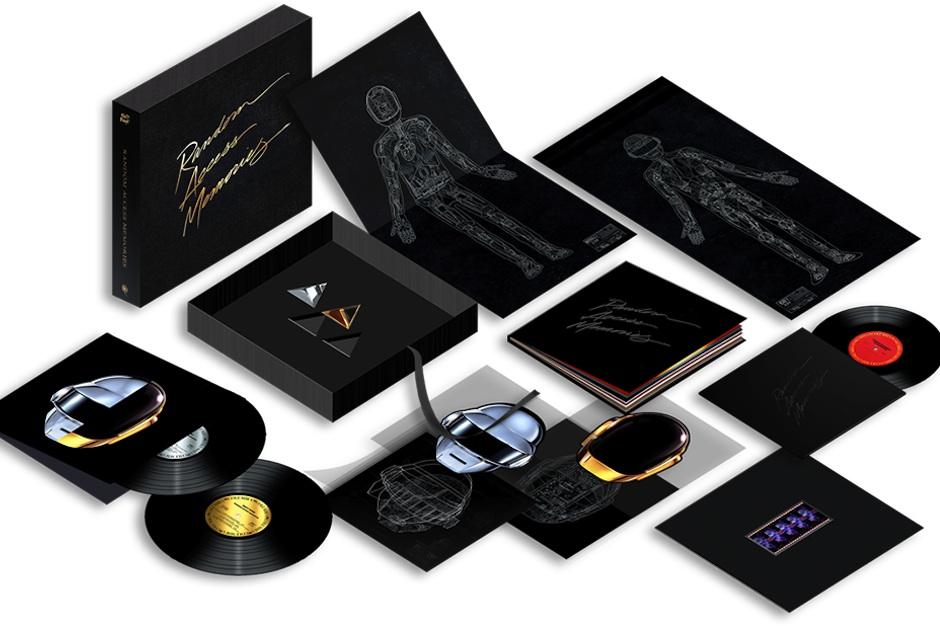 Daft Punk S Opulent Random Access Memories Box Costs