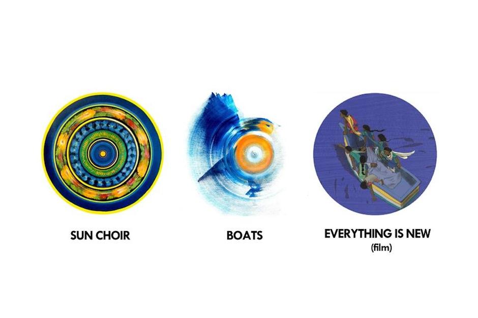 "Everything Is New, Boats, Sun Choir, Four Tet, ""Gillie Amma, I Love You,"" stream"