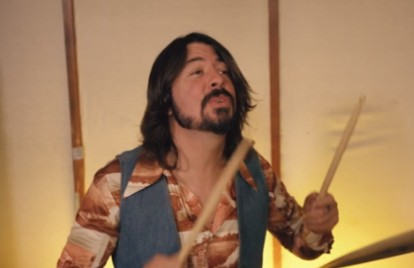Watch Dave Grohl, Jack Black, and Val Kilmer's Goofy Jam Session
