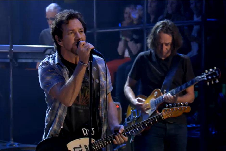 Watch Pearl Jam Strike 'Fallon' With White-Hot 'Lightning Bolt'