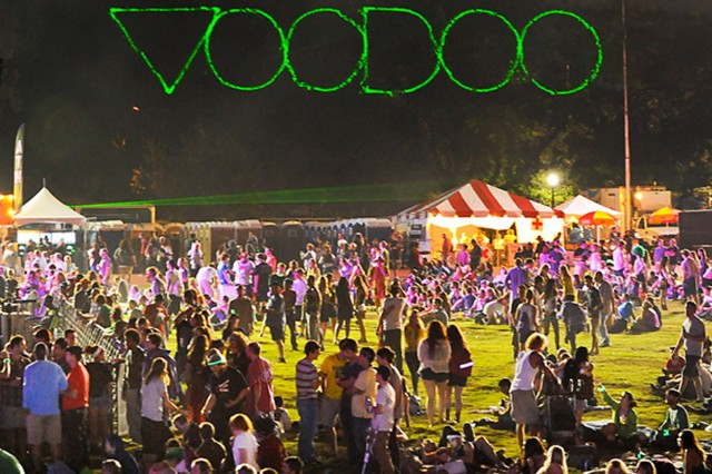 voodoo music + arts experience 2013, spin, soundwave tent, toyota