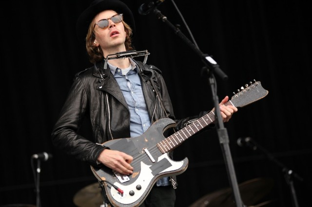 Beck, Warby Parker, 'Songs Reader,' glasses, eyeglasses, concert, Los Angeles