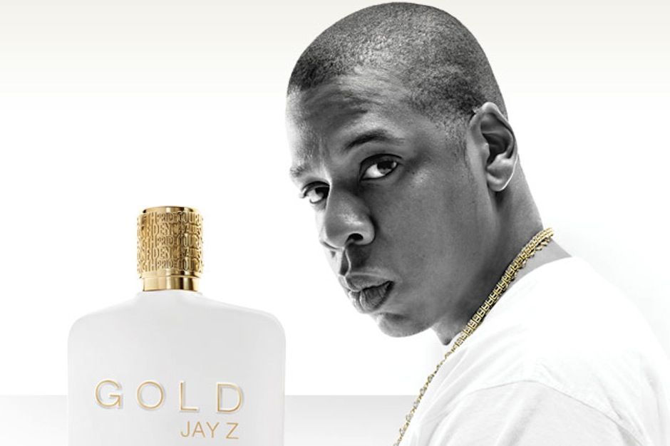 Jay Z, gold, fragrance, cologne
