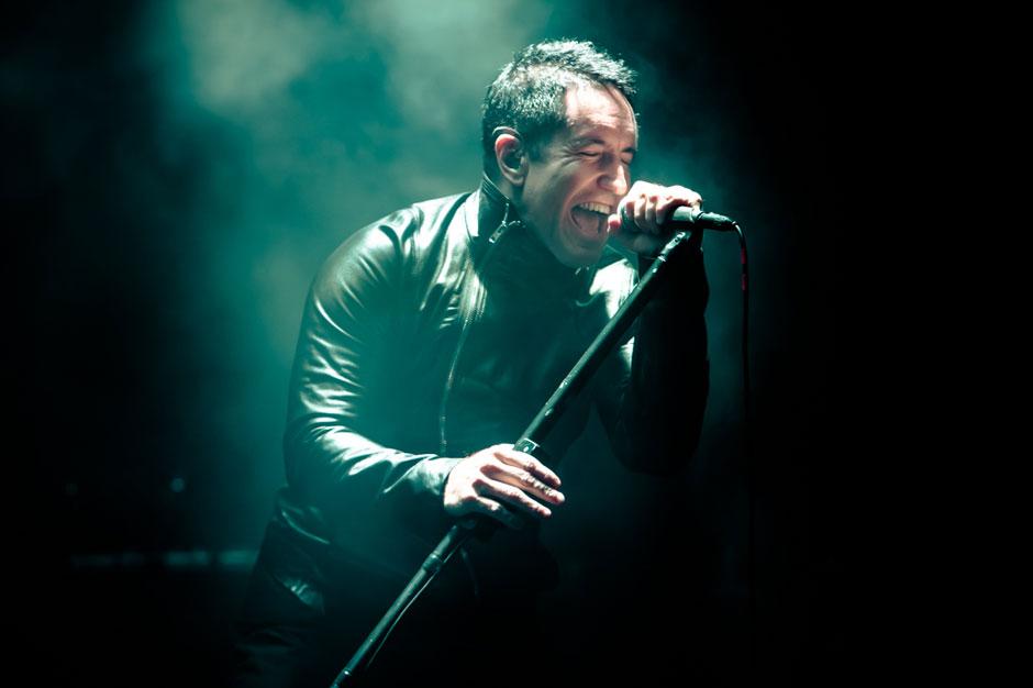 Nine Inch Nails at Voodoo Music + Arts Experience, New Orleans, November 2, 2013