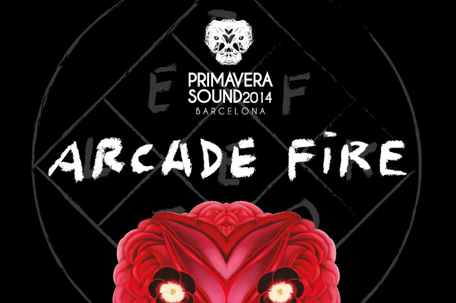 Arcade Fire will play Barcelona's Primavera Sound in May, 2014
