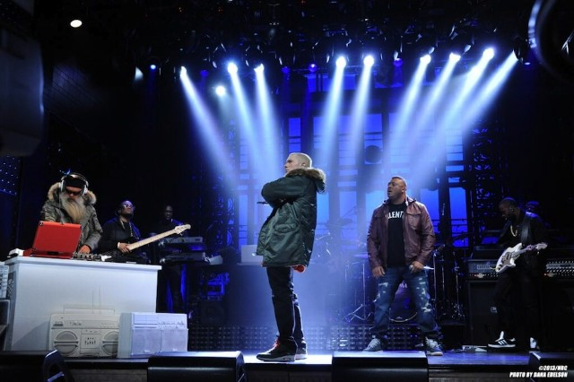 Eminem, lip sync, 'Saturday Night Live,' vocal track