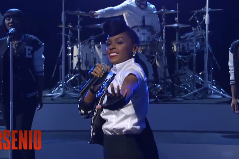 Watch Janelle Monae Rule Late-Night TV With 'Electric Lady' on 'Arsenio Hall'