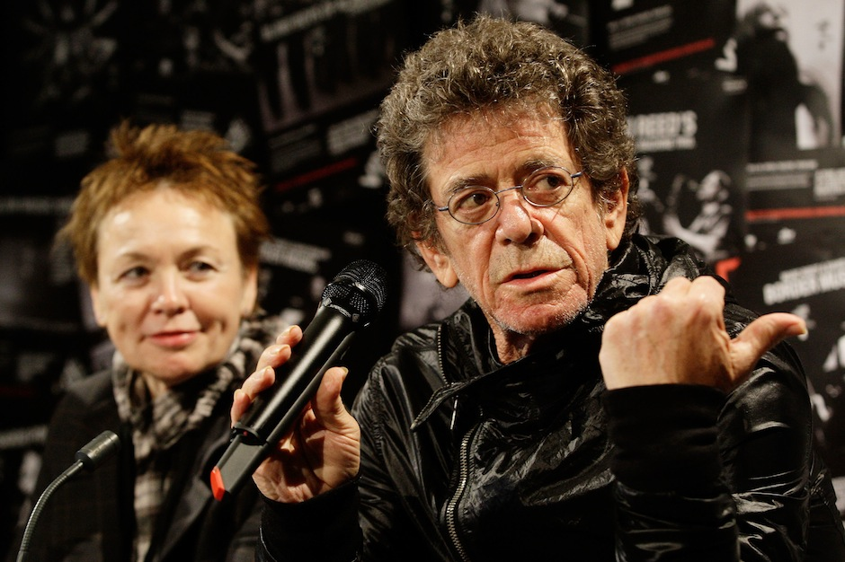 Lou Reed, Laurie Anderson, will, estate