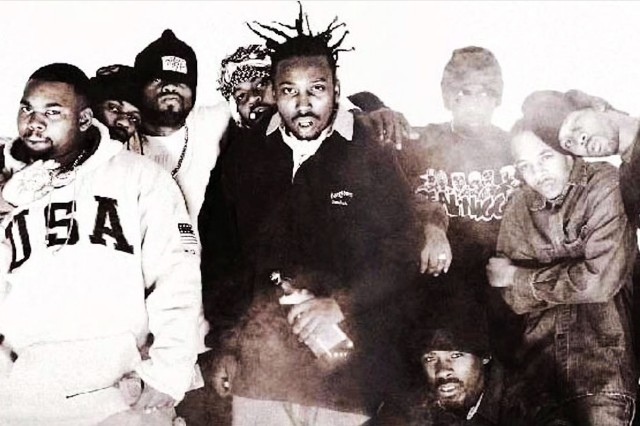 Wu-Tang Clan in 1993