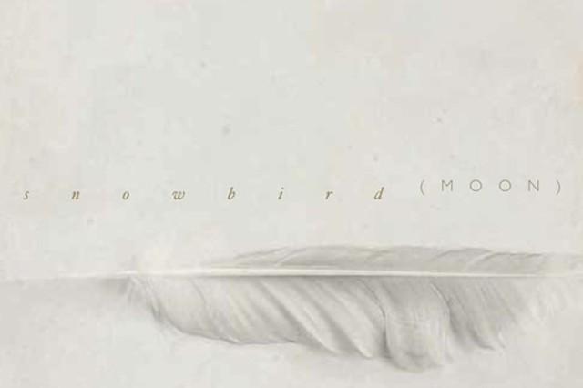 snowbird, moon, cover art