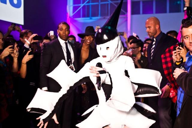 "Lady Gaga's ""artRave"", Brooklyn, November 10, 2013 / Photo by Jolie Ruben"