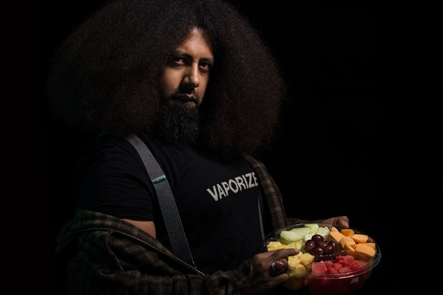 Reggie Watts in New York City, November 2013