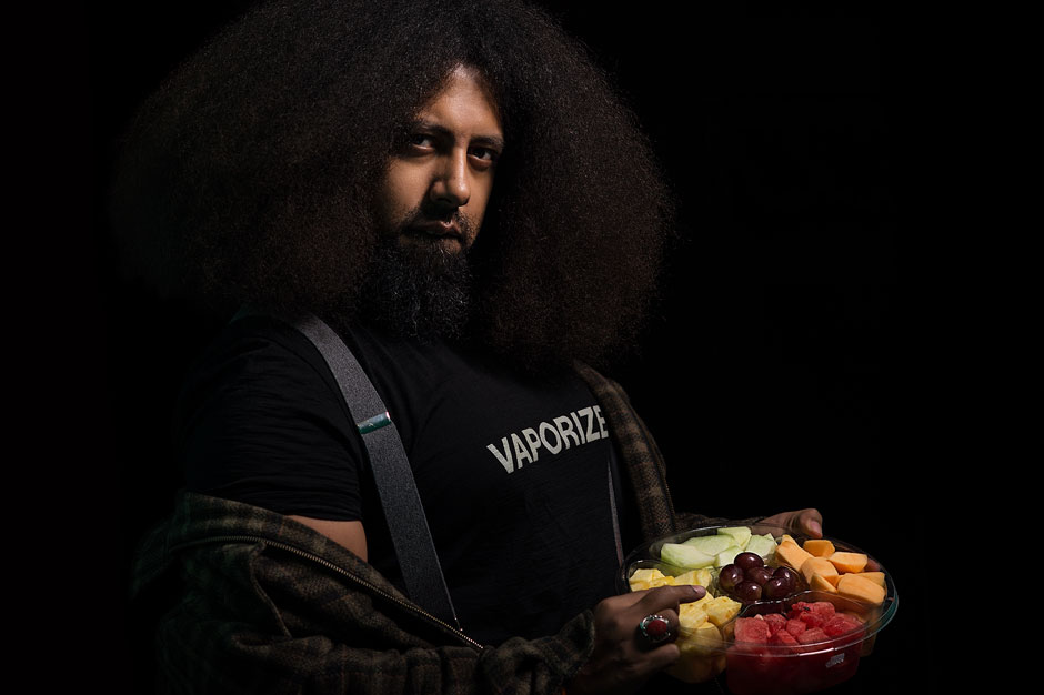 Reggie Watts on First-Kiss Jams and Loving Industrial Music