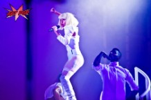 "Lady Gaga at ""artRave"", Brooklyn, November 10, 2013"